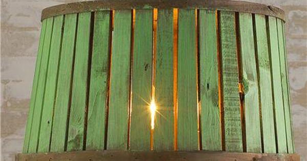 Dining room table light - Bushel Basket Lantern - these range from