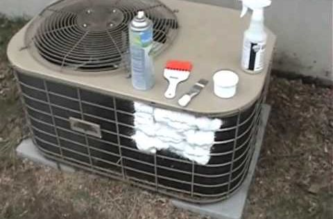 Clean Air Conditioner Coils Cleaning Air Conditioner