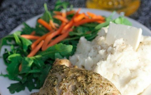Pesto Ranch Crock Pot Chicken Thighs | Pesto, Chicken Thighs and Pesto ...