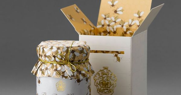 Klein Constantia Farm Honey packaging.