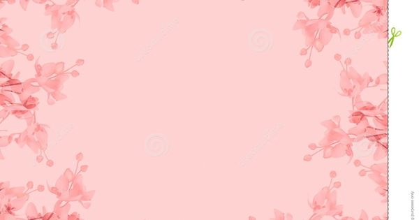 Oval Pink Borders | ... or border in floral / flower ...
