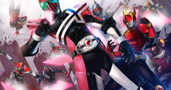 Pin By Cyin On Henshin Kamen Rider Decade Kamen Rider Kabuto Kamen Rider