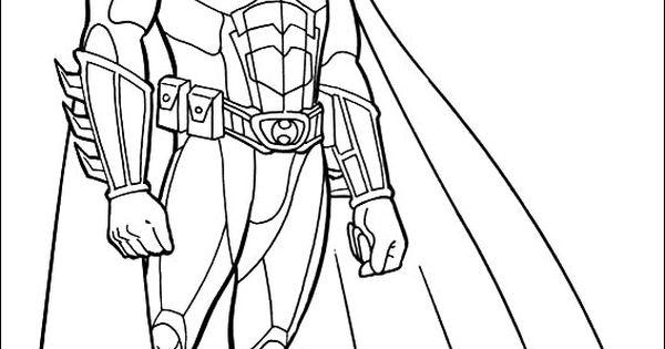 batman begins coloring pages - photo#22