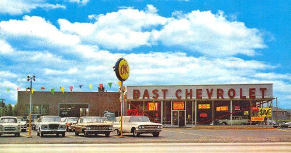 Seaford Long Island Ny Bast Chevrolet Dealership Cars Postcard