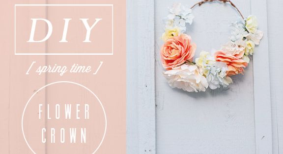 Lots of flower crown tutorials. DIY tutorial flower crown