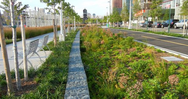 Photos Hunter S Point South Waterfront Park And Urban Beach Opens Today In Long Island City Urban Beach Landscape Architecture Degree Landscape Architecture Design