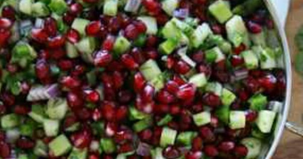 Pomegranates, Salsa and It is on Pinterest