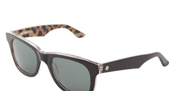 Electric Eyewear Detroit Xl Cappuccino Grey 6pm Com Electric Eyewear Eyewear Handbag Shoes