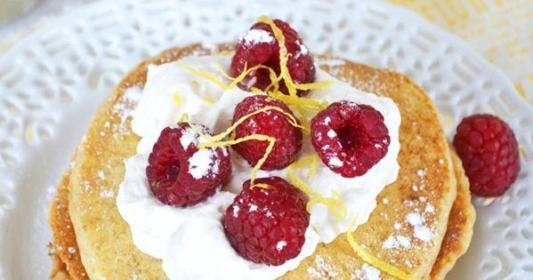 Lemon Ricotta Pancakes | Recipe | Lemon Ricotta Pancakes, Ricotta ...