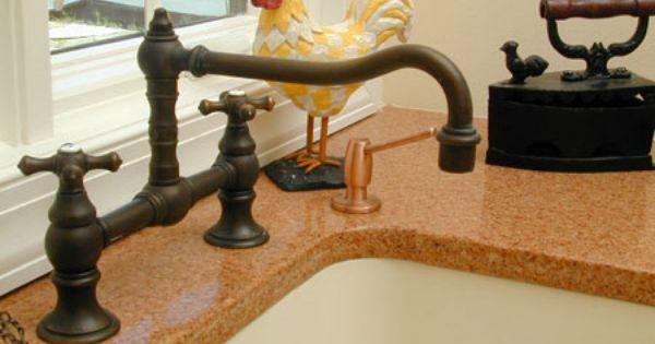 Quartz Zodiaq Copper Sunset Kitchen Countertops Midwest Tops