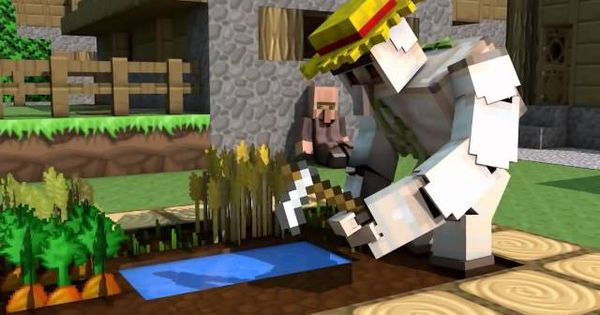 Minecraft Animation : SKY EATS A HOT DOG! video. Watch and ...