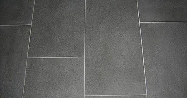 Matte Charcoal Tiles White Grout Google Search For The