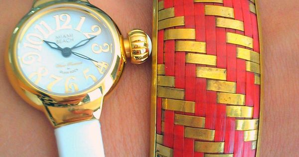 Glam Rock watch. - wrist candy