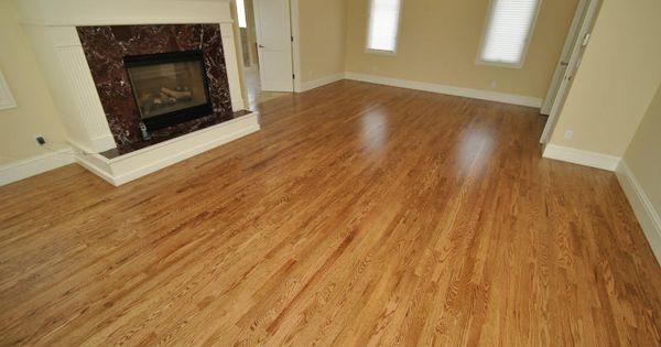 Oak Hardwood Flooring Red Oak Stain Nutmeg 171 All City
