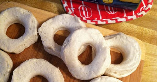 EASY cinnamon sugar donuts. - use the inside for donut holes. Christmas