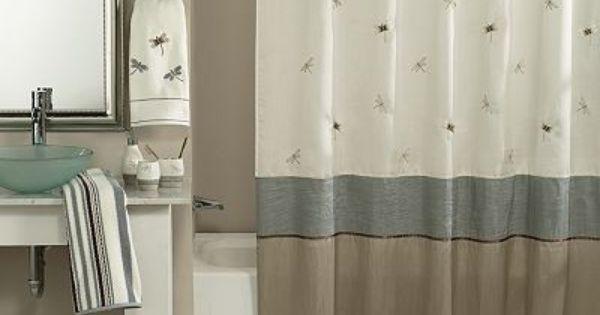 Home Classics Shalimar Dragonfly Bath Coordinates Original 12 99
