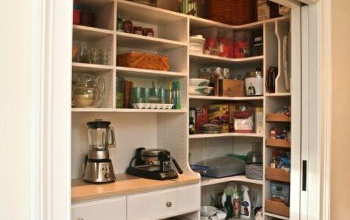 Tolle Ideen Fur Kleine Kuchen : Tolle Speisekammer Ideen in der Küche ...