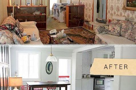 Recordamos el antes despu s de una casa incre ble for Remodelacion de casas viejas