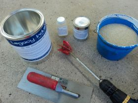 Products Concrete Repair Hd 110 Epoxy Concrete Patch Floor Coating Concrete Epoxy Epoxy Floor Coating