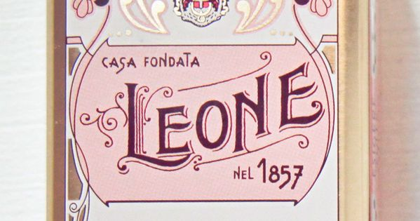 """Leone"" vintage packaging design"