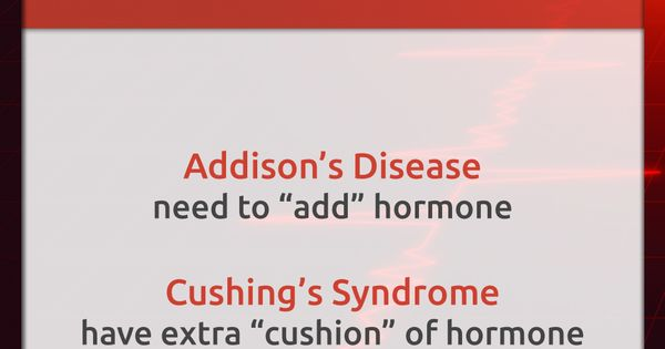 Don't get confused between Addison's and Cushing's! | FAIL ...