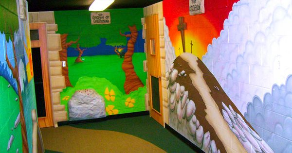 bible stories mural style - photo #15