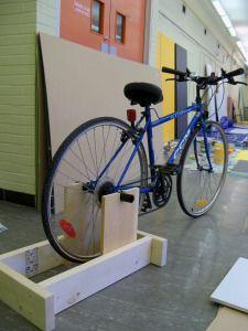 Exercise Bike Diy Stationary Bike Biking Workout Bicycle Workout