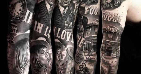 Bonnie And Clyde Tattoo: Bonnie And Clyde Tattoo