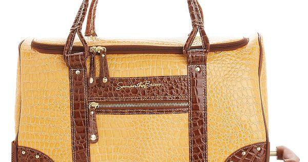 Samantha Brown Luggage Qvc: Samantha Brown Weekender City Bag