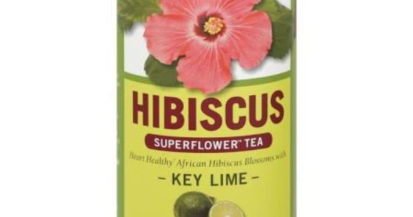 Republic Of Tea Tea, Superflower, Hibiscus, Key Lime, Caffeine-Free ...