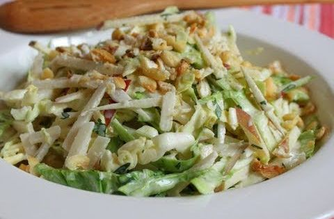 Apple-Jicama Slaw With Sweet And Spicy Sriracha Dressing Recipes ...