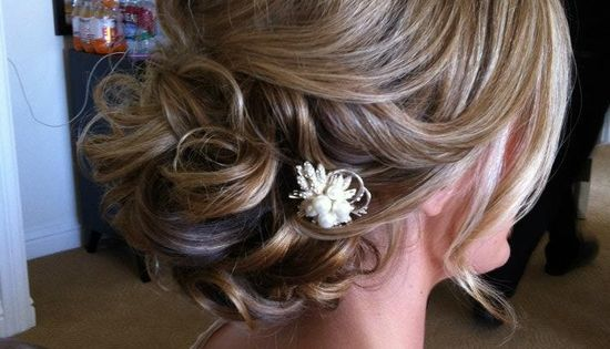 short hair up dos for weddings | ... Short Hair Updos For