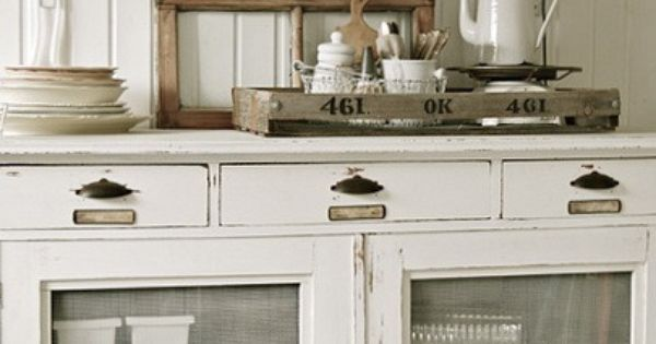 Pie safe lower decorattion de la maison pinterest for La maison muebles