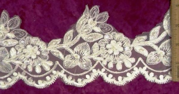 Lace Ribbon Narrow Sold By The Metre