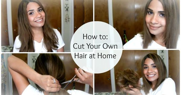 Style Your Own Hair: How To: Cut Your Own Hair At Home ♥ A-Line Bob