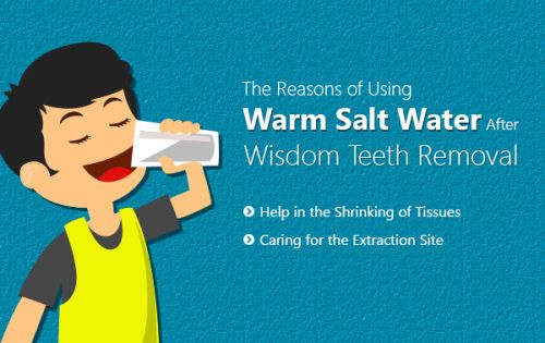 Dental News In East Dulwich Why Do Use Warm Salt Water For Caring After Wisdom Salt Water Rinse Mouth Wisdom Teeth Wisdom Teeth Removal