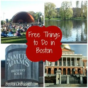Free Things To Do In Boston With Images Boston Things To Do
