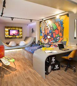 Dormitorio Skateboarding Para