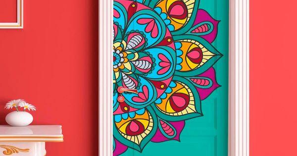 Vinilos decorativos para puertas ploteos personalizados puertas - Vinilos decorativos pared personalizados ...