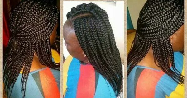 Crochet box braids hair styles Pinterest Crochet Box, Box Braids ...