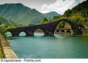 Provinz Lucca Borgo A Mozzano Toskana Italien Urlaub Italien