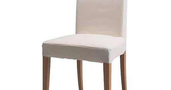 Ikea henriksdal chaise gobo blanc dossier haut et for Chaise ikea henriksdal