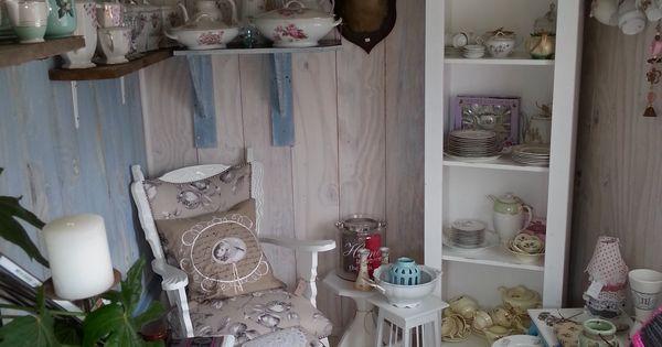 Pipowagen van marian pipowagen pinterest tuinhuisje for Meerlo interieur