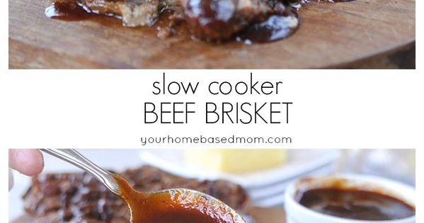 Slow cooker beef, Brisket and Beef on Pinterest