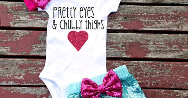 Pretty Eyes And Chubby Thighs Baby Girl by ...
