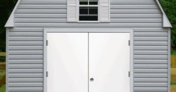 Steves & Sons Garden Shed White Left-Hand Outswing Primed