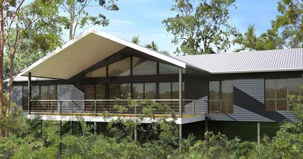 Mountain view single level kit homes modern designs for Mountain home kits
