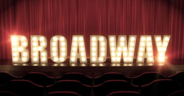 Stage Lights Broadway West End Or Little By
