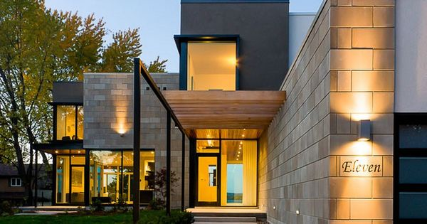 Carefully orchestrated indoor outdoor encounters ottawa river house architecture we adore for Exterior home solutions ottawa