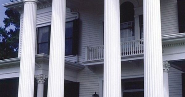 Our Round Tapered And Fluted Columns Are A Great Way To